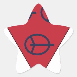 4to División antiaérea Pegatina En Forma De Estrella
