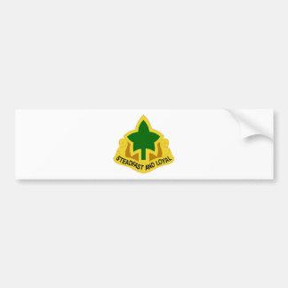 4to División de infantería Etiqueta De Parachoque