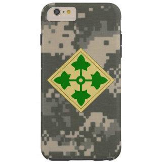 """4to División de infantería """"división"""" Digital Camo Funda De iPhone 6 Plus Tough"""