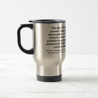 4to Enmienda de la constitución de Estados Unidos Tazas De Café