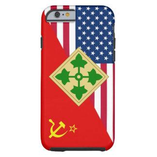 """4to Esquema de la pintura de la """"guerra fría"""" de Funda De iPhone 6 Tough"""
