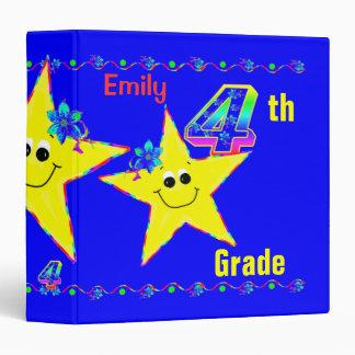 4to Estrellas del smiley de las carpetas de la esc