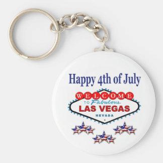 4to feliz de Las Vegas del llavero de julio