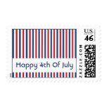 4to feliz de los sellos de julio (rayas)