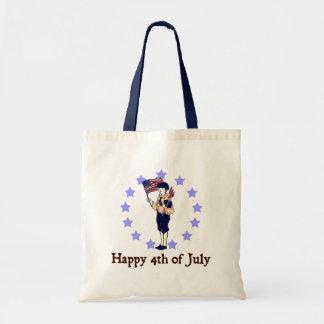 4to feliz del arte del vintage de julio