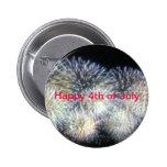 4to feliz del botón   de julio pin