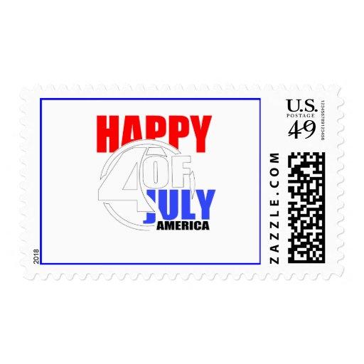 4to feliz del franqueo de julio América