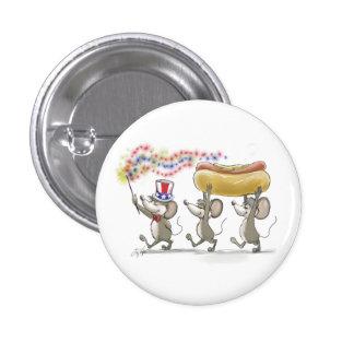 4to feliz del Mic del mac y de Moe del botón de j Pin