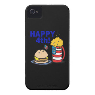 4to feliz Case-Mate iPhone 4 fundas