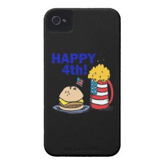 4to feliz iPhone 4 Case-Mate coberturas