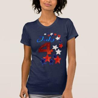 4to grande de la camiseta de julio