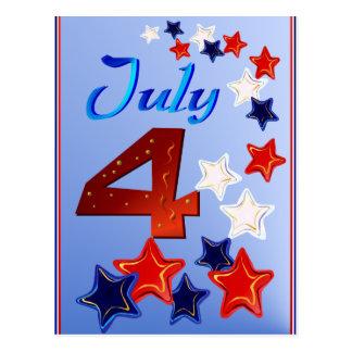 4to grande de la postal de julio