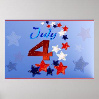 4to grande del poster de julio
