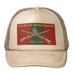 4to Historia DUI del regimiento de infantería Gorro