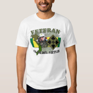 4to Inf Div - Vietnam Remeras