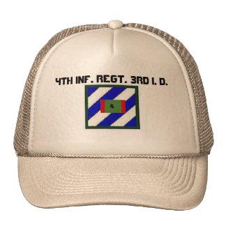 4to INF. Regimiento. 3ro Identificación Gorra