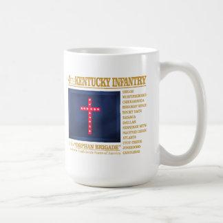 4to Infantería de Kentucky (BA2) Taza De Café