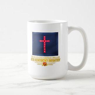 4to Infantería de Kentucky Taza De Café
