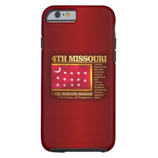 4to Infantería de Missouri (BA2) Funda Para iPhone 6 Tough