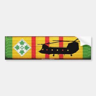 4to Infantería Div. Pegatina para el parachoques d Pegatina Para Auto