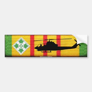 4to Infantería Div. Pegatina para el parachoques Pegatina Para Auto