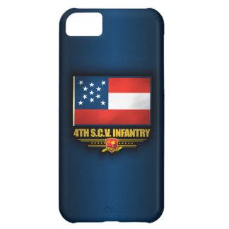 4to Infantería voluntaria de Carolina del Sur Funda iPhone 5C