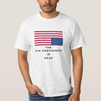 4to La enmienda es deadShirt Playeras