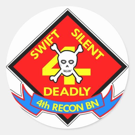 4to mortal silencioso rápido etiquetas