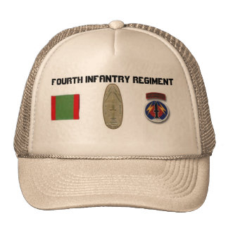4to Profesional de los INF NCO/OFF Pershing. Gorro