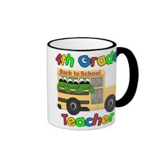 4to Profesor del grado Tazas De Café