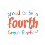 4to profesor orgulloso del grado postales