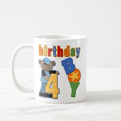 4to Regalo de cumpleaños Tazas De Café