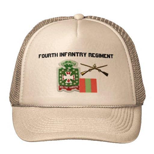 4to Regimiento de infantería Gorro