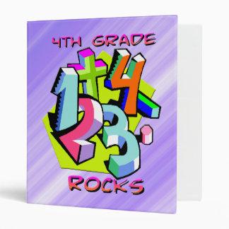 4to Rocas del grado - carpeta de los números