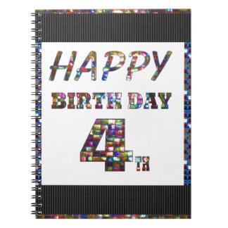 4to texto del feliz cumpleaños libros de apuntes
