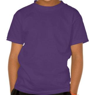 4to Unicornio del arco iris del cumpleaños - chica T Shirts