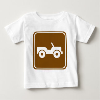 4WD Off-road Trail Highway Sign Tees