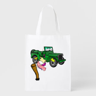 4WD off roading Grocery Bags