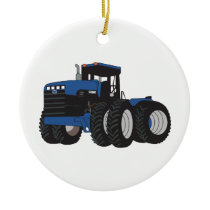 4WD Tractor Ceramic Ornament