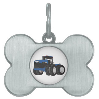 4WD Tractor Pet ID Tag