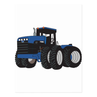 4WD Tractor Postcard