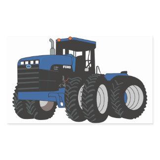 4WD Tractor Rectangular Sticker