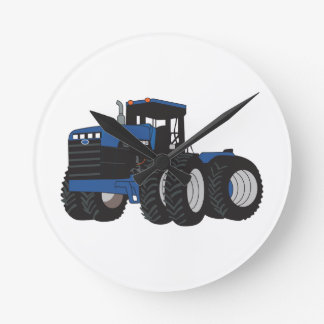 4WD Tractor Round Clock