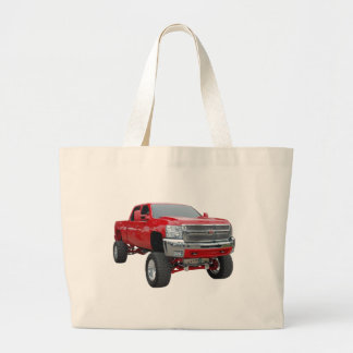 4X4 Chevy Large Tote Bag