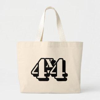 4x4 Four By Four ATV Four Wheel Drive Jumbo Tote Bag