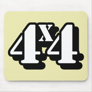 4x4 Four By Four ATV Four Wheel Drive Mouse Pad
