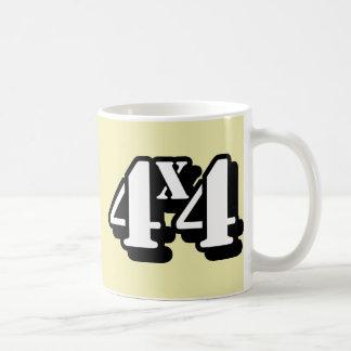 4x4 Four By Four ATV Four Wheel Drive Coffee Mugs