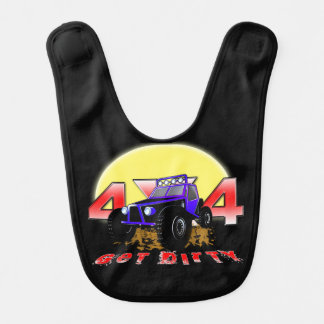 4x4 Get dirty as the sun comes up Bib