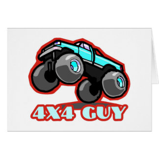 4x4 Guy: Off-road Monster Truck (all terrain) Card