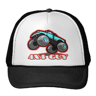 4x4 Guy: Off-road Monster Truck (all terrain) Trucker Hat